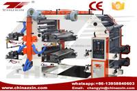 zhuxin 4 Color Plastic Bag Flexo Printing Machine
