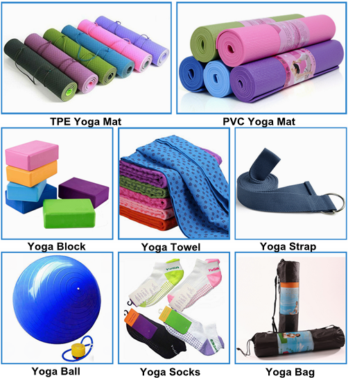 Durable Double Side 6mm thickness TPE Yoga Mat