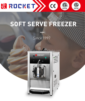 Best selling best cost-effective soft ice cream powder mix machine with small capacity