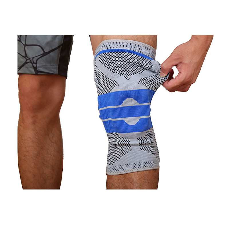 Neoprene waterproof breathable compression knee brace support sleeve for sports safety