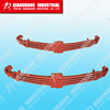 Different types of heavy duty truck leaf spring China high quality leaf spring manufacture