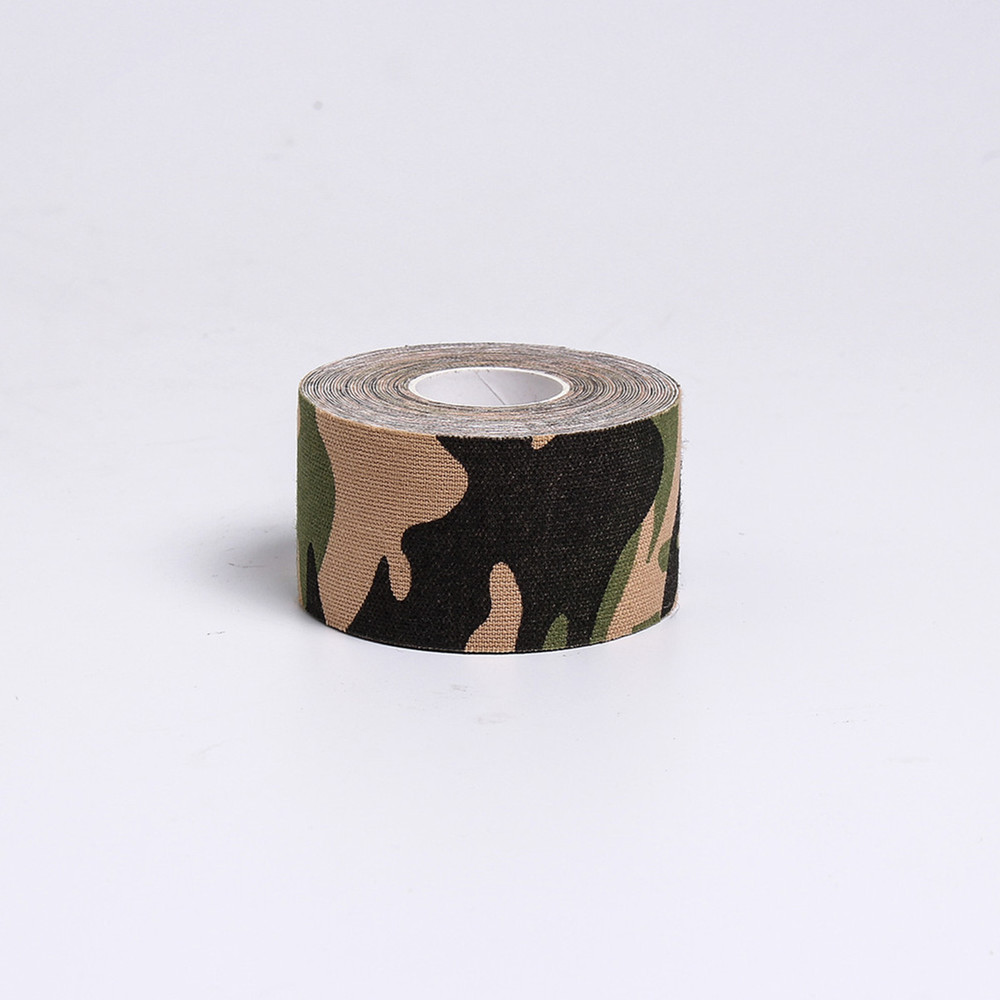 New Products Supply Rigid 치료 스포츠 근 탄성 Custom Printed Camouflage 운동학 Tape
