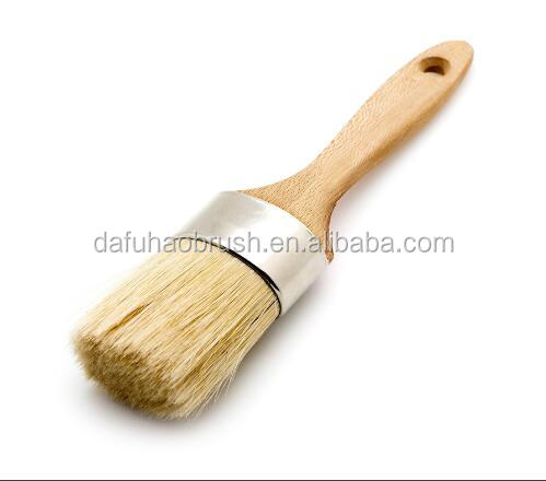 Round Paint Brush Perfect for Chalk Paint & Wax 2 Inch Diameter