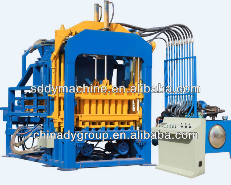 Dongyue 2013 newly QT6-15B Automatic cheap fly ash brick making machine