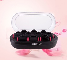 Beauty salon hot water curler hair rollers for women hair style