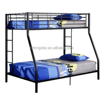 Wholesale Double Decker Twin Full Size Metal Bunk Bed For Adult And