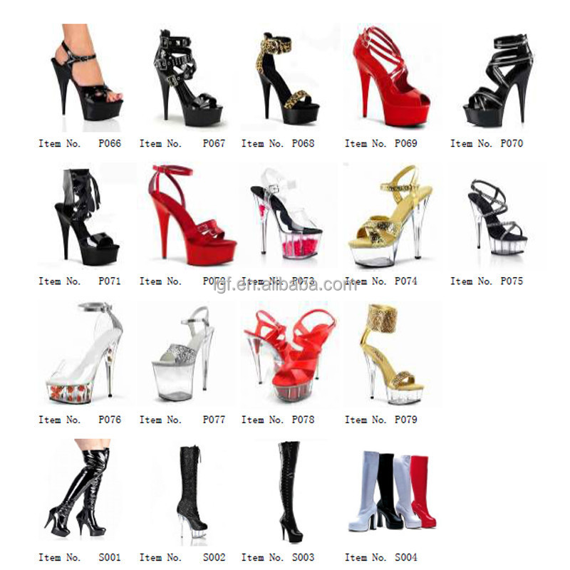 6 inch high heel boots sexy fashion gladiator short boots sexy clubbing Exotic  Dancer party shoes 15cm Platforms womens pumps 6444a6be8371