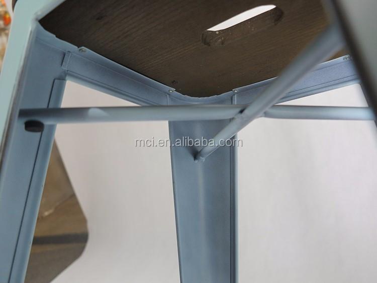Personalizzato bristol sgabelli cucina metal ferro da pranzo sedia