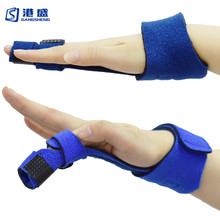 <span class=keywords><strong>Vinger</strong></span> Extension Spalk voor Trigger Mallet Finger Knuckle Immobilisatie