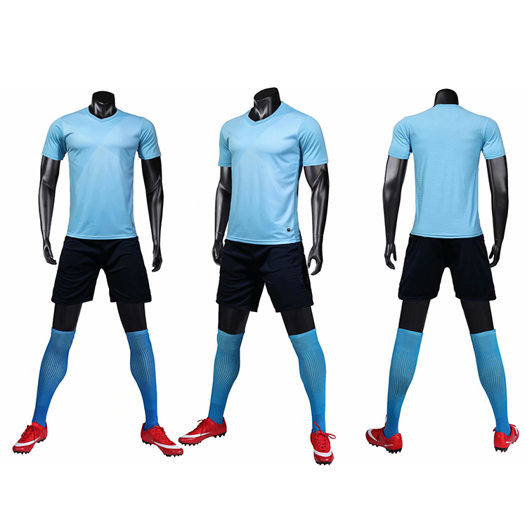 Newest design sublimation printing soccer team training wear