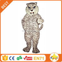 Funtoys CE Hot Sale Walking Actor Cartoon Tiger Mascot Costumes