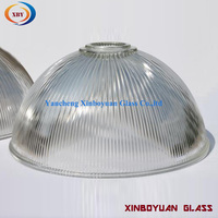 ribbed glass industrial pendant light shades clear glass lamp shade