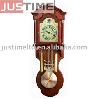 Wooden Pendulum Wall Clock Buy Lighted Wall Clock