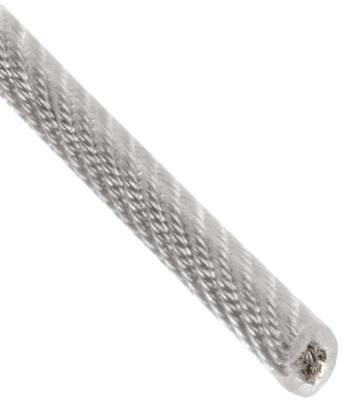 Buy Galvanized Steel Wire Rope, Vinyl Coated, 7x19 Strand Core, 1 ...