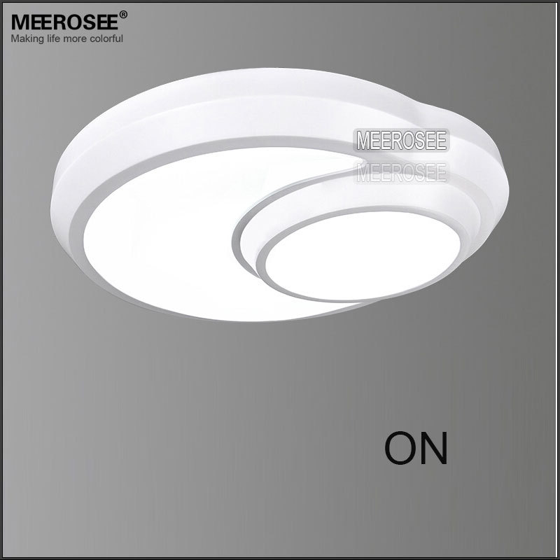 Popular Round Led Ceiling Lamp 2 Circles Ceiling Light Modern ...