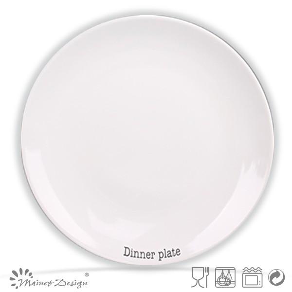 Crockery Hotel used white ceramic dinner platecheap bulk white dinner platecheap white  sc 1 st  Changsha Happy Go Products Developing Co. Ltd. - Alibaba & Crockery Hotel used white ceramic dinner platecheap bulk white ...