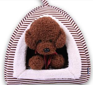 Folding Dog Kennel Teddy house Pet Bed Cat Mats Easy carry Dog home Travel Used pet product