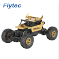 factory price Flytec 1:18 scale RC Car 2.4G 4WD Alloy Metal Body Shell Crawler RC Buggy Car