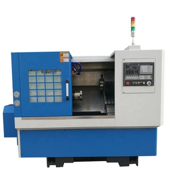 Taiwan turret type cnc lathe machine slant bed auto lathe with tool post TCK6339