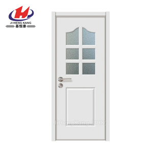 JHK-G30 Fashion Popular One Way Fused Glass Door Cabinet French Doors