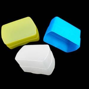 uWinka 3 COLOR (Blue+Yellow+white) kit Flash Bounce Diffuser for CANON Speedlite 580EX 580EXII 580EX II