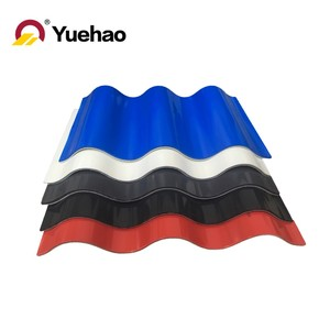 Building material plastics roof tile / Corrugated roofing sheets / PVC roofing material for villa roof outdoor decoration