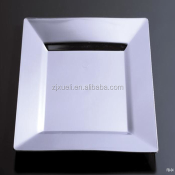 square disposable plastic plates with ps material & Square Disposable Plastic Plates With Ps Material - Buy Plastic ...
