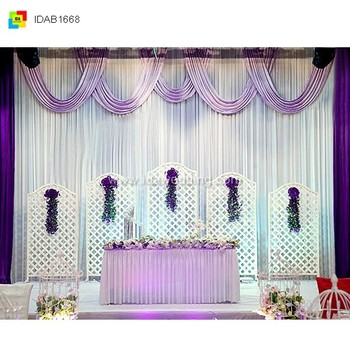 Church Style Curtains Decoration For Wedding Backdrop Design Buy Cool Church Decoration Designs