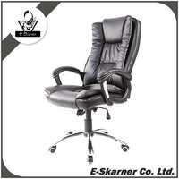E-Skarner Anji Great Chair Producer Black Office Leather Chair