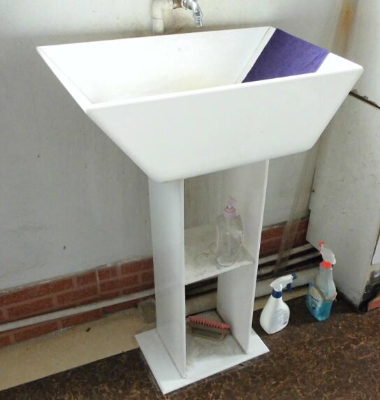 popular acrylic bathroom accessories display stand