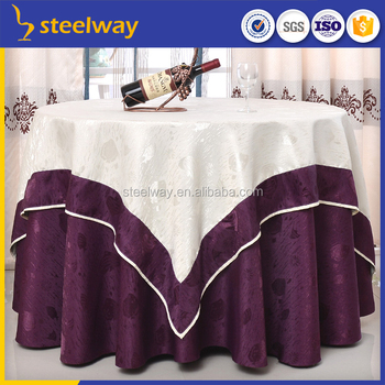 Wedding Black Japanese Table Cloth Design