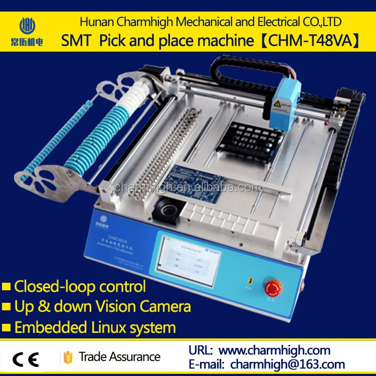 Provided Manufacturing Pick And Place Machine Low Cost With Smd Components Supply Smt Placement Equipment Useful Led Smt Machines New Varieties Are Introduced One After Another Welding & Soldering Supplies
