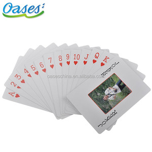 Gifts playing card laminate poker deck with 52 / 54pcs