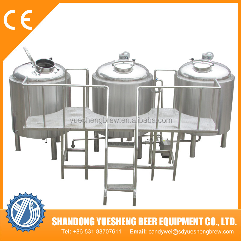 Micro beer brewing equipment for hotel/pub/restaurant