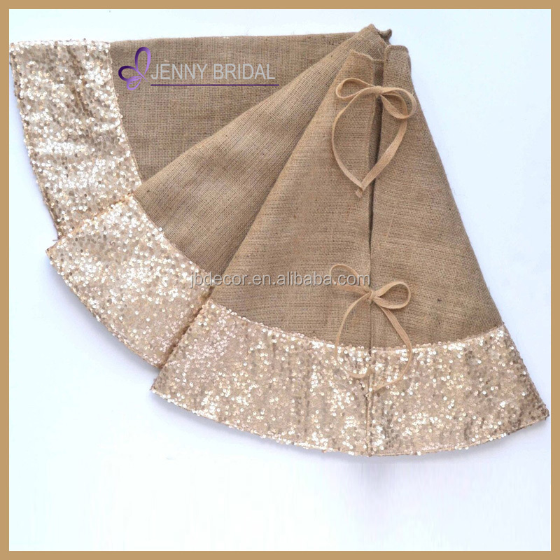 Cts009a Wholesale High Quality Sequin Burlap Christmas ...