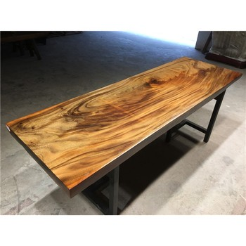 Long Whole Piece Tree Log Walnut Wood Slab For Dining Table Buy