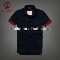 allover print boys' polo with band collar cheap polo t-shirt