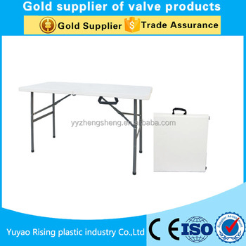 Picnic Table Plastic Rectangular Hdpe Folding Table Ft Regular - Picnic table supplier