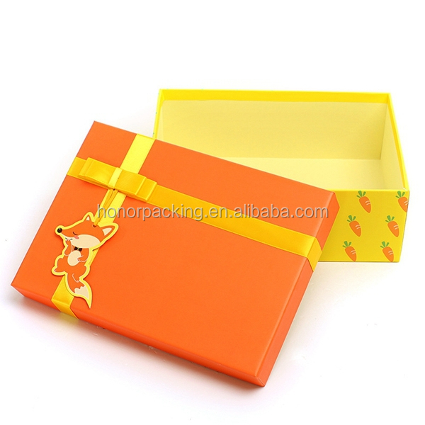 hot selling custom made pink for gift hat paper box with ribbon,paper packaging box with lid wholesale