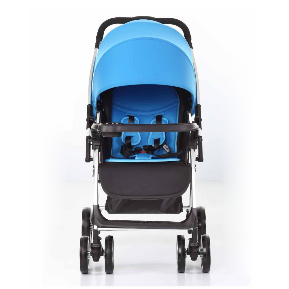 Reversible handle aluminium alloy baby buggy stroller prams