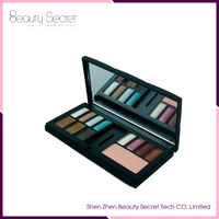 magnetic makeup 12 color highlighter makeup blusher and eyeshadow palette