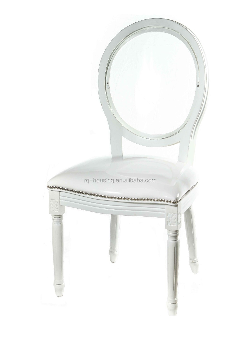 French Style Perspex Louis Ghost Chair / Plexiglass Victoria Louis ...