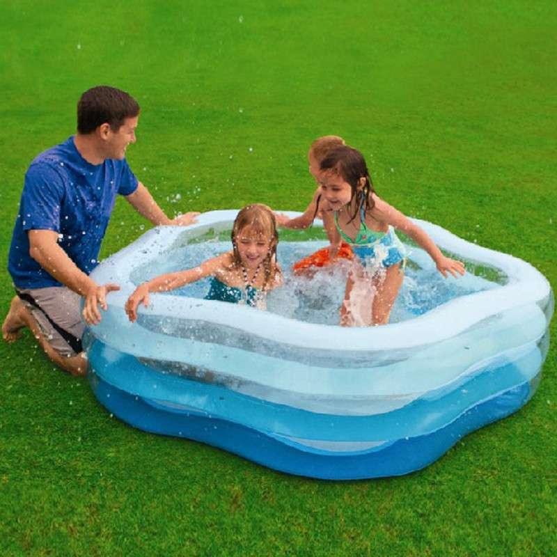 product detail nice popular fashional pvc kids inflatable swimming pool