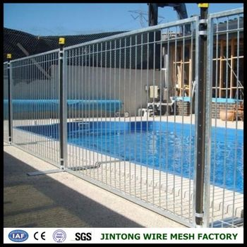 Temporary swimming pool fencing portable pool fence pool barricade buy pool barricade for Swimming pool safety fence prices