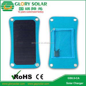 Portable Iphone 6 Mobile Power Bank Charger Rohs Solar Charger