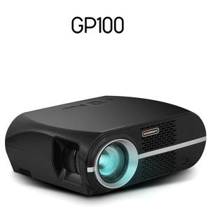 TOP NO.1 LED Projector VIVIBRIGHT GP100 with 1280x800pixels better than DLP Projector 3500Lumens HD USB AV all in one