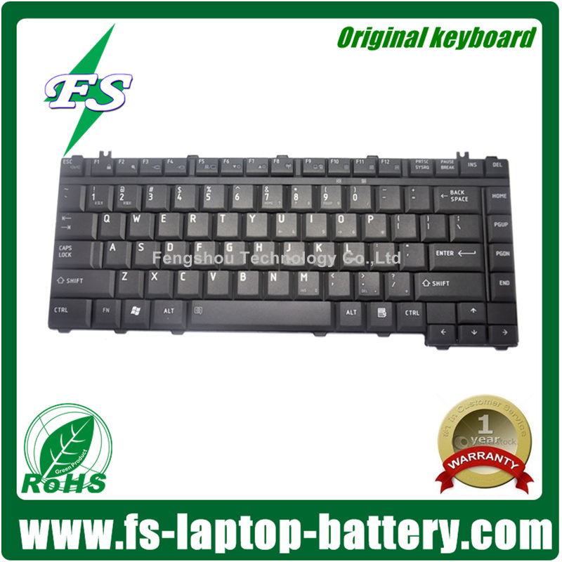 Original keyboards L300 for Toshiba Laptop keyboard with US UK French Portuguese Russian Italian German Czech Layout