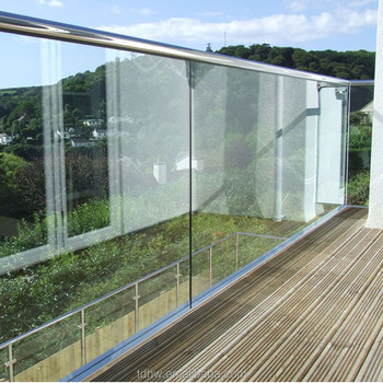Outside Balcony Glass Railingstainless Steel Handrail U Channel