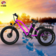 Aluminum Alloy 48V 500w fat tire cargo electric tricycle with pedal