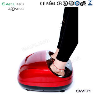 Chinese supplier Built-In Heat Deep-Kneading Customizable Air Pressure and Full Foot Coverage From Ankle to Toe foot massager